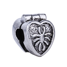 1pc Fashion Jewelry 925 Clips Locks Beads Alloy Charm European Spider Love Heart Stopper Bead Fit Pandora Bracelets & Bangles