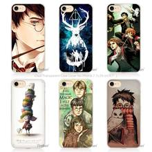 harry potter dream magic Hard Transparent Phone Case Cover Coque for Apple iPhone 4 4s 5 5s SE 5C 6 6s 7 Plus