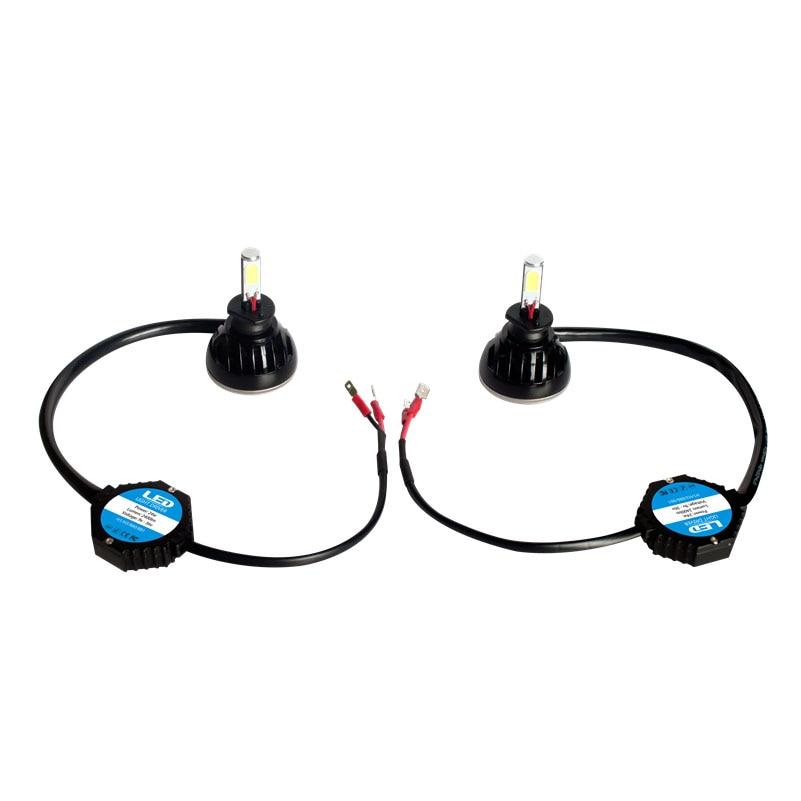 2PCS/LOT 80W 8000lm H1 6000K LED HEADLIGHT 12V Car Upgrade Conversion Bulbs Kit White<br><br>Aliexpress