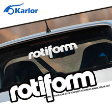 Rotiform Vinyl Reflective 3M Front Windshield Ho Car Sticker Auto Decal for Volkswagen VW Bora Golf Polo Tiguan Car Styling