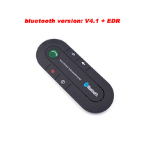 Hands free Speakerphone Wireless Bluetooth Handsfree Car Kit FM Transmitter MP3 music Player For Mobile Phone Dual Phone Connect