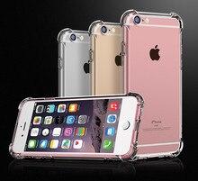 Super Shockproof Clear Soft Case for iPhone 5 5S SE 6 7 8 Plus 6SPlus 7Plus 297044d994edd