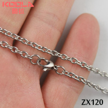 Buy 50 meters stainless steel 3mm open annulus oval chain Jewelry man male necklace chains ZX120 for $45.00 in AliExpress store