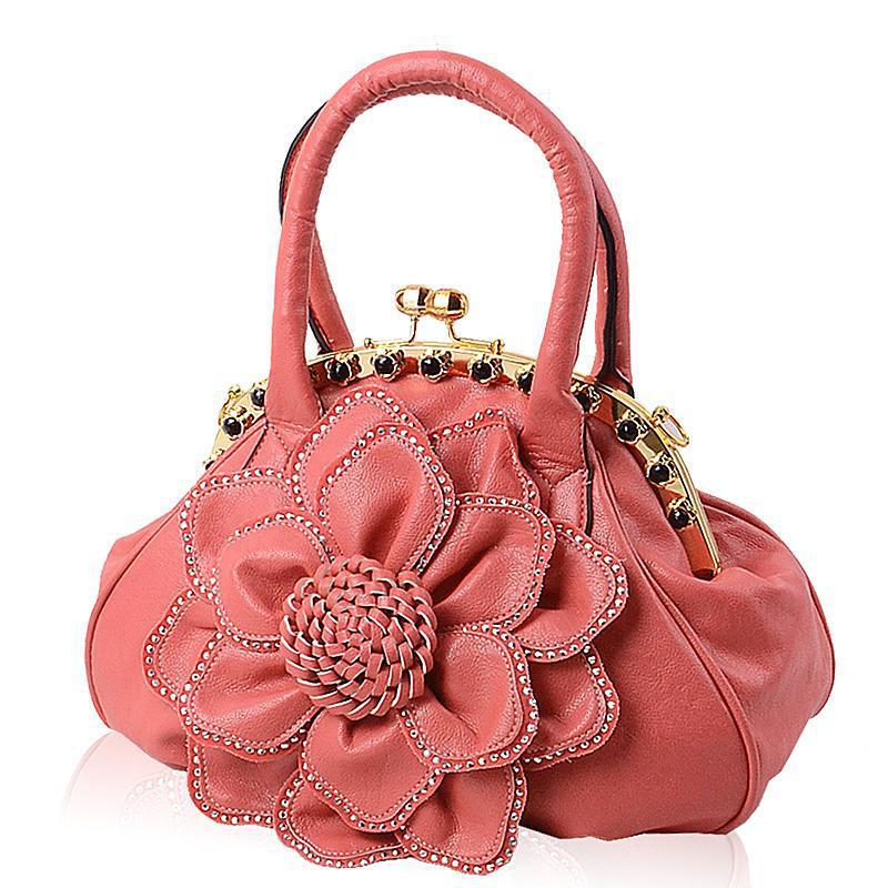 Women Bags Big 3D Flower Women Handbag Totes 2016 New Rose Fashion Women Messenger Bags<br><br>Aliexpress