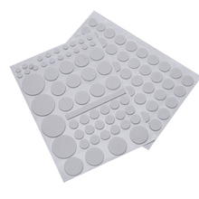 132/Sets Furniture Floor Protector Felt Pads Cushion Mats Self Adhesive Chair Feet Legs Glides Skid Tile Felt Pad