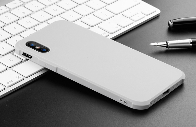 Prouphcs For iPhone X Case Soft Silicone TPU Cover Case for iPhone 7 8 Plus 6 6S 5S Full Protective Shockproof Phone Case 11
