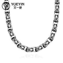 new cool styles heavy solid chains N060 hot China supplier latest design 316L stainless steel fashion Necklace(China)