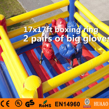 Free Shipping Commercial Inflatable Games Inflatable Boxing Ring for Adults