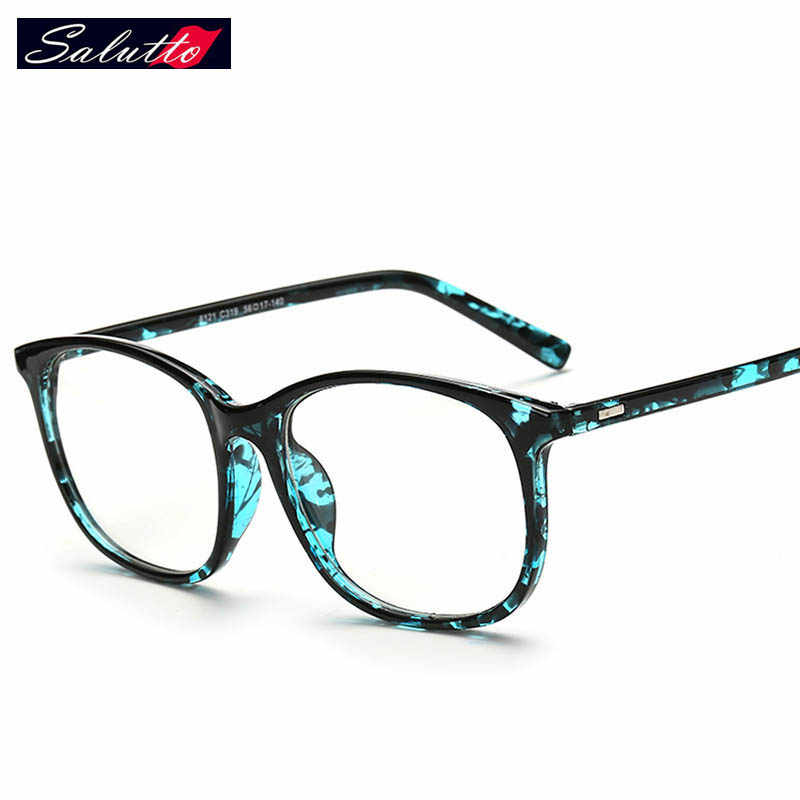6591c487bc New Fashion Optical Glasses Frames Men Women PC Brand Oversized Clear Lens  Eyewear Frames Prescription No