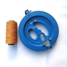 Hot Sale Big Kite Flying Traction Tools Kite Handle Wheel High Quality ABS Kite Wheel with 150m Flying Lines(China)