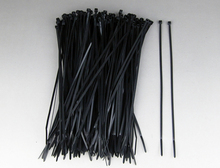 Free Shipping1000pcs a lot 3*100mm Different Colour Cable Tie , Black Nylon Cable Tie(China)