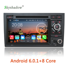 Android 6.0.1 Octa Core 2G RAM Car DVD Player Radio For Audi A4 2003 2004 2005 2006 2007 SEAT EXEO 2012 S4 RS4 8E 8F B9 B7 RNS-E