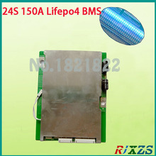 24S 150A bms Lifepo4 72V large high current lifepo4 BMS PCM for electric bike electric car 150a bms(China)