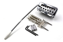 Niko Chrome 2 Stud Fixed Electric Guitar Bridge Tremolo Bridge System For Fender Strat Style Electric Guitar Free Shipping
