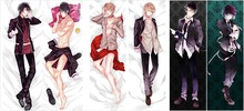 Japanese Anime DIABOLIK LOVERS Sakamaki Ayato BL Pillow Cover Case Male Hugging Body Bedding Covers