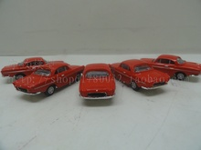 Special wholesale 1:87 scale Simulation mini alloy car,Simulation NOREV red classic car,Collection toy model,free shipping