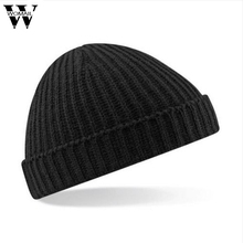 Fashion Casual Winter Beanie Men Knitted Hat Touca Snow Caps Skullies Gorro Amazing Aug 12 Solid Color