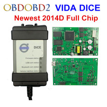 Full Chip For Volvo Vida Dice 2014D Diagnostic Tool Multi-Language For Volvo Dice Pro Vida Dice Green Board Firmware Update