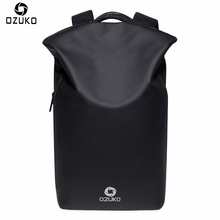OZUKO New Design Waterproof Men Backpacks Anti theft USB Charge Creative Casual Travel Bag Multifunctional 15.6 Laptop Backpack