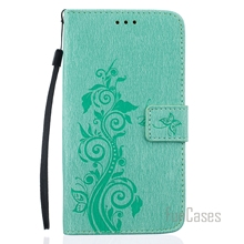 Luxury PU Leather Flip Phone Case Cover For LG LS 775 Embossing Wallet Card Slots Stand Case Bag For LG G4 Stylus 2 LS775 ajax(China)
