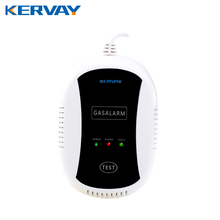 Kervay 433MHZ Wireless Gas Detector Natural Gas Alarm Safety Device Kitchen Security Gas Alarm Sensor for Home Security(China)