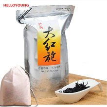 Factory Direct 250g Dahongpao Tea, Big Red Robe Oolong ,wu Long Wulong Wu-long Weight Loss Da Hong Pao Black Tea Bag+gift