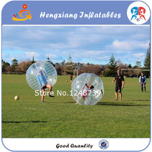 10pcs 5red +5blue+2blower Free Shippng 1.5m PVC Bubble Football,Inflatable Bubble Ball Suit, Zorb Ball, Bubble Soccer