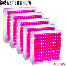 5PCS DIAMOND II 1600W Double Chips LED Grow Light Full Spectrum 410-730nm For Indoor Plants and Flower with Very High Yield(China)