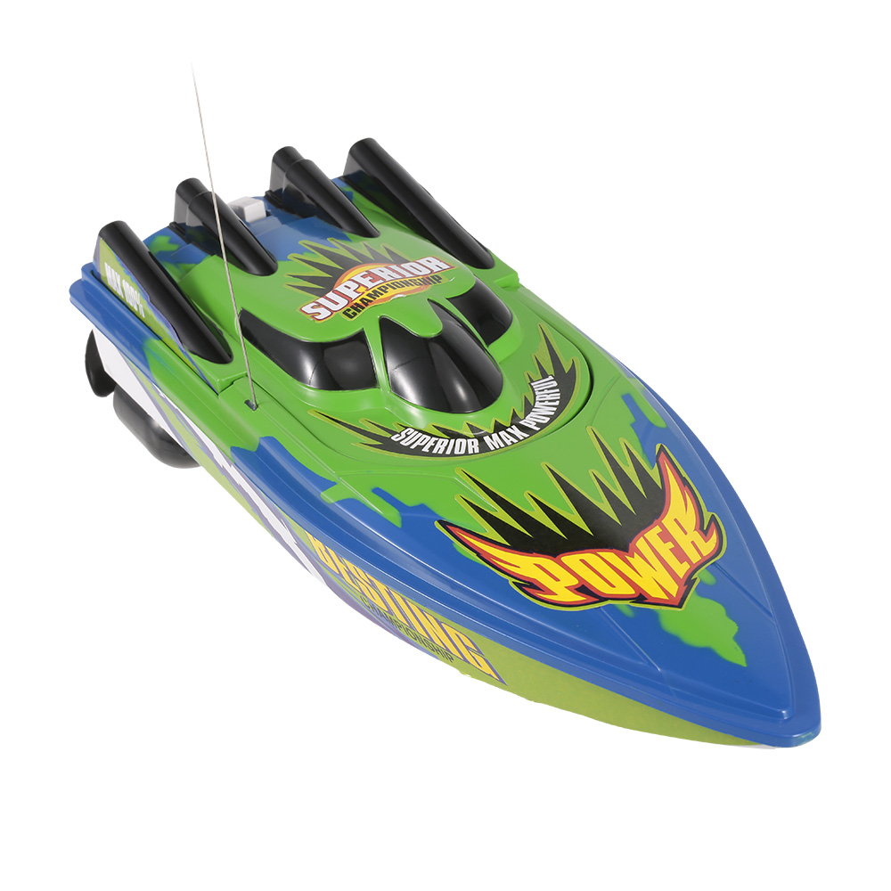 Radio Control Racing Boat RTR Electric Speedboat Ship RC Boat Model RC Toys with 4.8V 700mAh Rechargeable Battery (9)