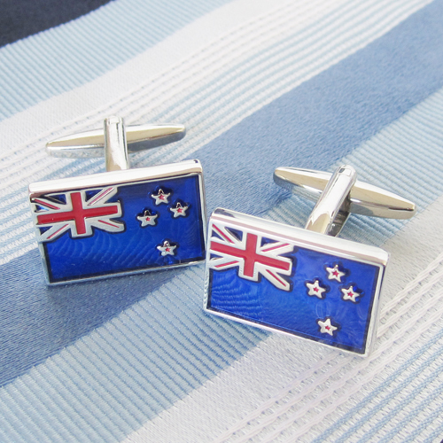 New Zealand Flag Cufflink 15 Pairs Wholesale Free Shipping
