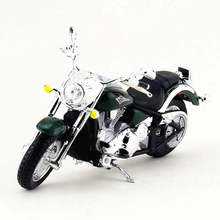 Maisto 1:18 Kawasaki Motorcycle Toy, Die Cast & Alloy Motorbike, Emulation Vulcan Motor Car Model, Toys For Children, Brinquedos(China)