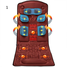 Back Neck Massage Chair Massage Relaxation Car Seat. Heat Vibrate Mattress/Home Office Full-Body Massage Cushion. /160803