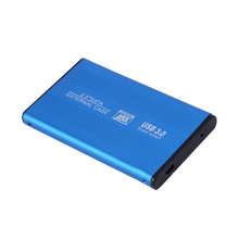 "Etmakit  USB 3.0 HDD SSD SATA External Aluminum 2.5"" Hard Drive Disk Box Enclosure Case up to 3TB 2.5"" SATA External Case"