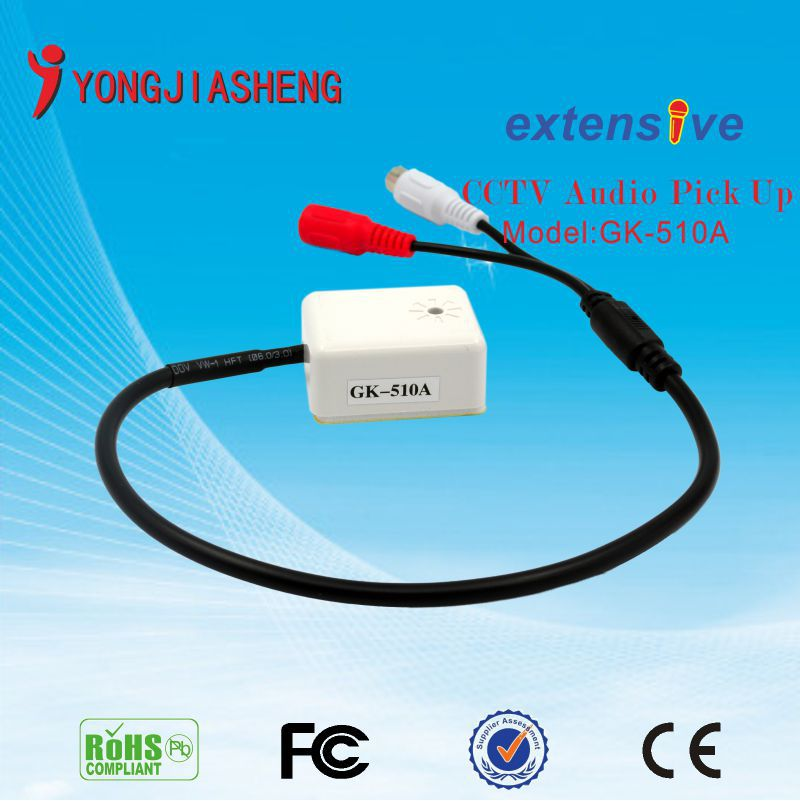 Free shipping CCTV Microphone audio pickup Sound monitor<br><br>Aliexpress