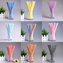 50 pcs/lot Colorful Waves Drinking Straws Environmental Paper Drink Straws For Kids Birthday Wedding Party Decorative Prom Tubes