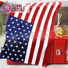 1pcs/lot free shipping pure cotton Bath towel Beach Canadian flag American flag British flag long casual big towel 70*140cm