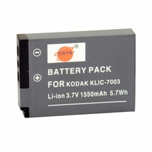 DSTE KLIC-7003 Rechargeable Battery for KODAK EasyShare V1003 V803 GE-E1030 GE-E1040 GE-E1050TW GE-E850 GE-E855 Camera