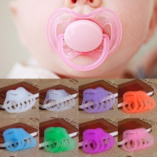 5Pcs Multi Colors Baby Silicone Dummy Pacifier Holder Clip Adapter for MAM Rings