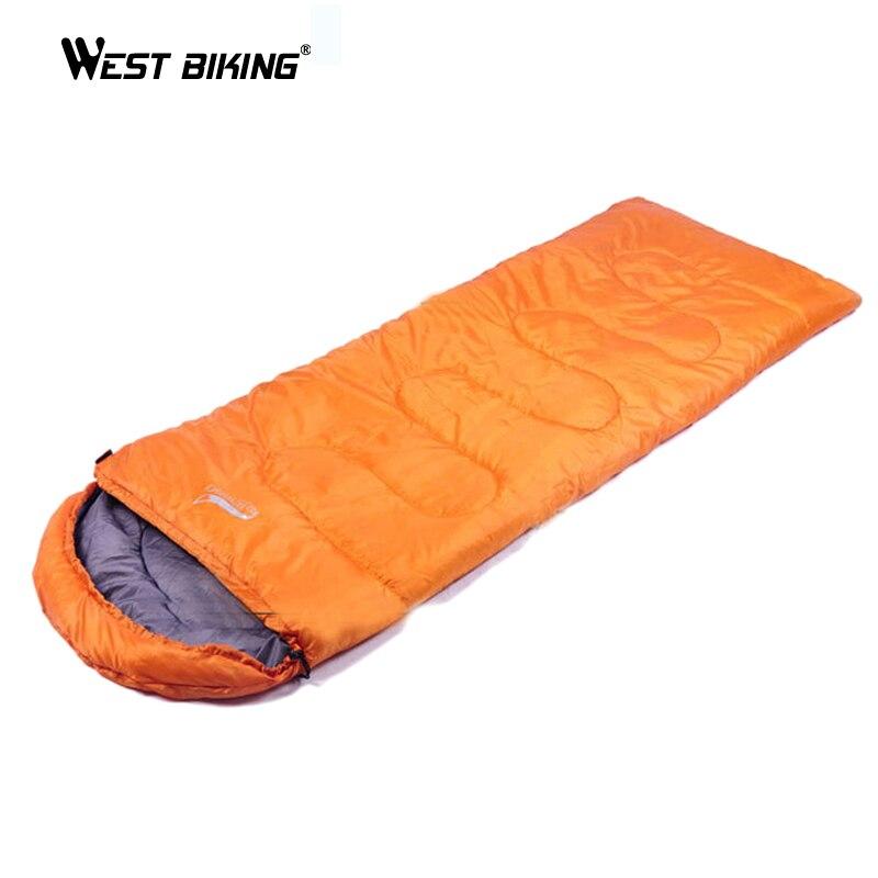 WEST BIKING 1KG 70*220CM Outdoor Mountainning Camping Ultralight Sleeping Bag Camping Mountain Cycling Sleeping Bag<br>