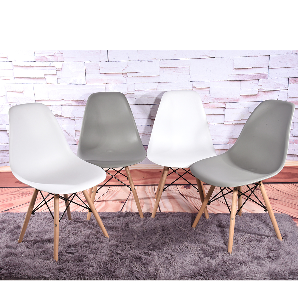Dining Chair Retro Wooden Legs  4pcs/lot Dining Room Furniture Chairs HOT SALE<br>