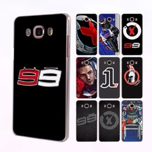 jorge lorenzo lorenzo 99 Logo red X Style transparent clear Case for Samsung Galaxy J3 2016 J5 2017 J7 Prime J1 J510 J710