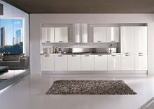 Customized made White color kitchen design K024