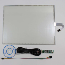 "15"" 5 wire resistive touch screen+USB controller for 15"" 1024x768 4:3 lcd panel(China)"