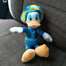 20CM Rare Original Donald Duck Plush Toys Mickey and Roadster Racers Donald Stuffed Animal Doll
