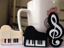USB Flash Drive 64G Pen Drive 32G Pendrive 16G 8G 4G New Style Cartoon Piano Hot Sale Pendrive USB2.0 Memory Stick Free Shipping