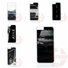 audi car rs logo For Apple iPhone 4 4S 5 5C SE 6 6S 7 7S Plus 4.7 5.5 iPod Touch 4 5 6 Hard PC Skin accessories