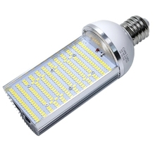 30w 50w 60w 80w led street light road lamp LED corn light E27 E40 LED horizontal cross plug industrial light source 110v 220V(China)