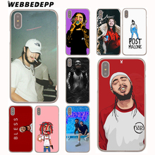Buy WEBBEDEPP Post Malone Hard Cover Case iPhone X 10 8 7 6 6S Plus 5 5S SE 5C 4 4S for $1.49 in AliExpress store