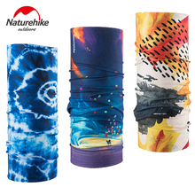 NatureHike Hiking Scarf magic elastic quick drying Hiking Scarves Headband Outdoor Camping Hiking Cycling Head Printing color(China)