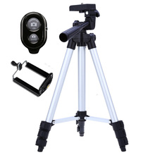 Portable Digital Camera Camcorder Tripod Stand for Cellphone Canon Nikon Sony 36-94cm Extendable with Self-Timer Shutter